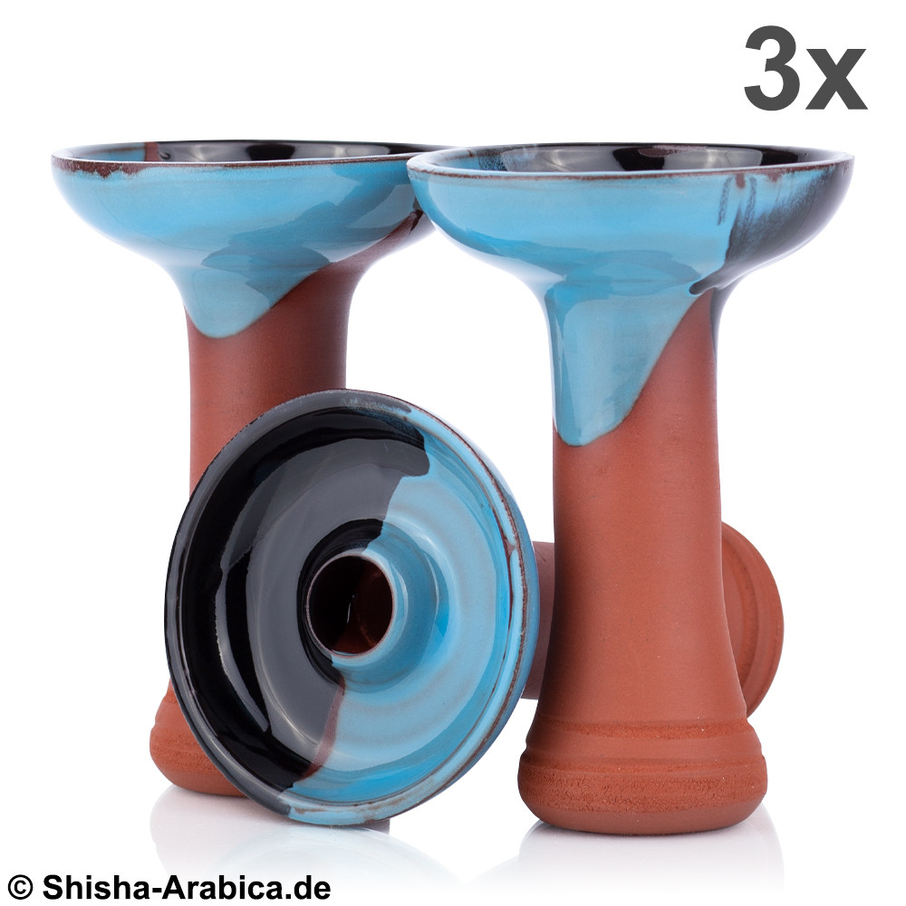 Phunnel Bowl Natur Black-Blue 3x