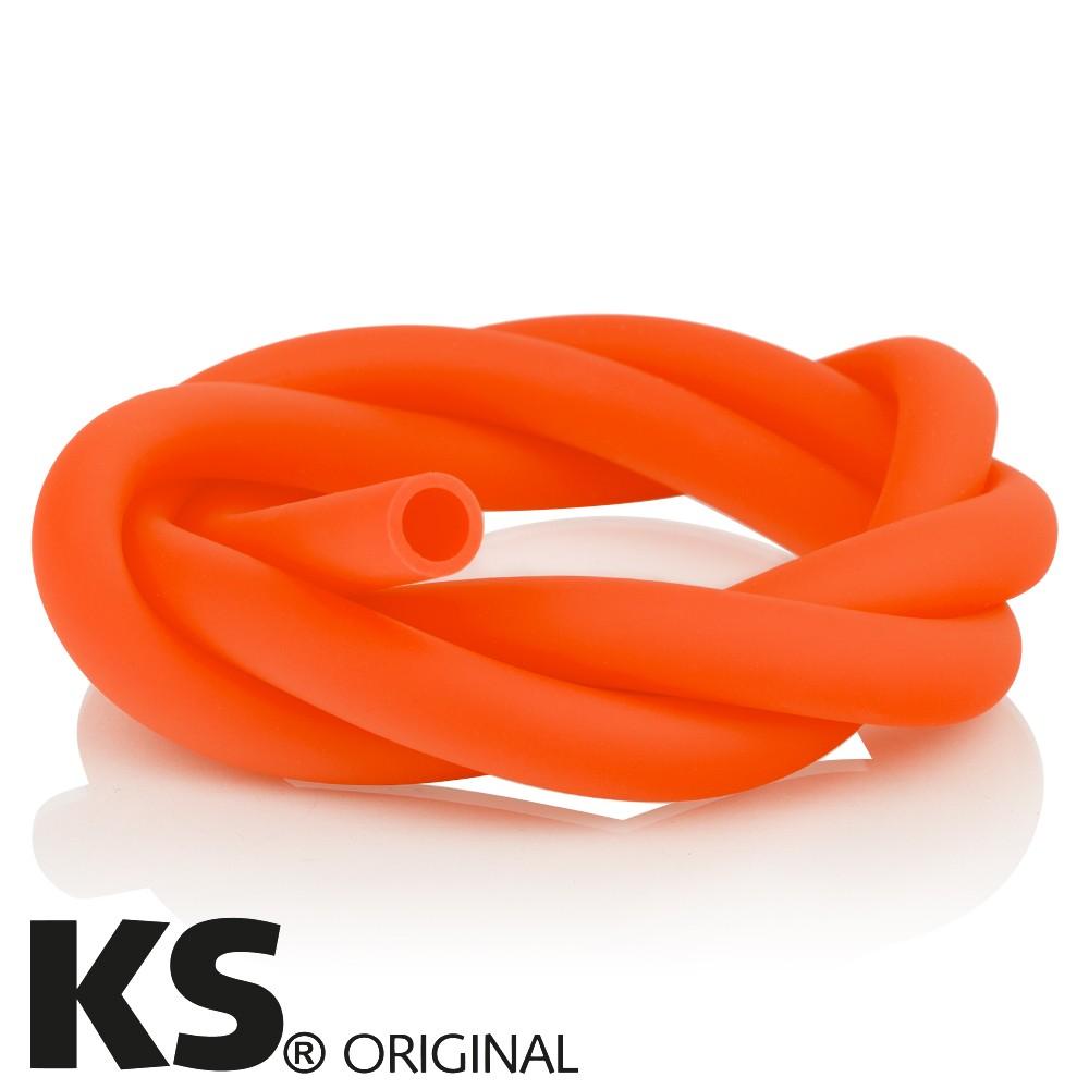 KS Silikonschlauch Matt Orange