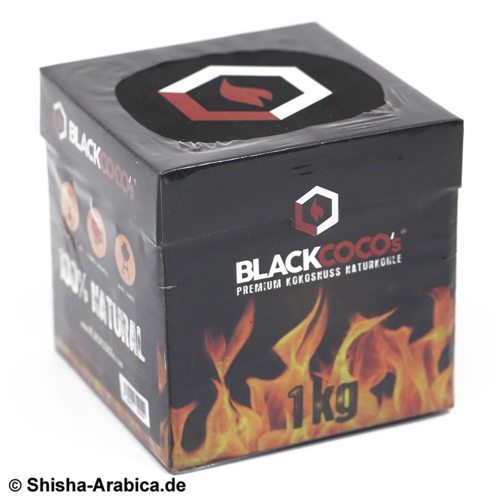 Black Coco's Premium Kokosnuss Naturkohle 1kg