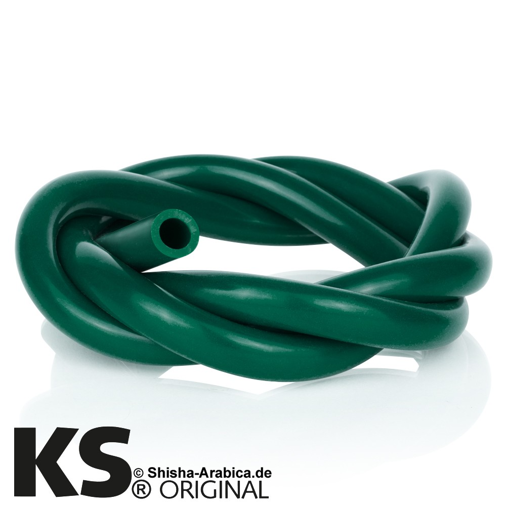 KS Silikonschlauch Green