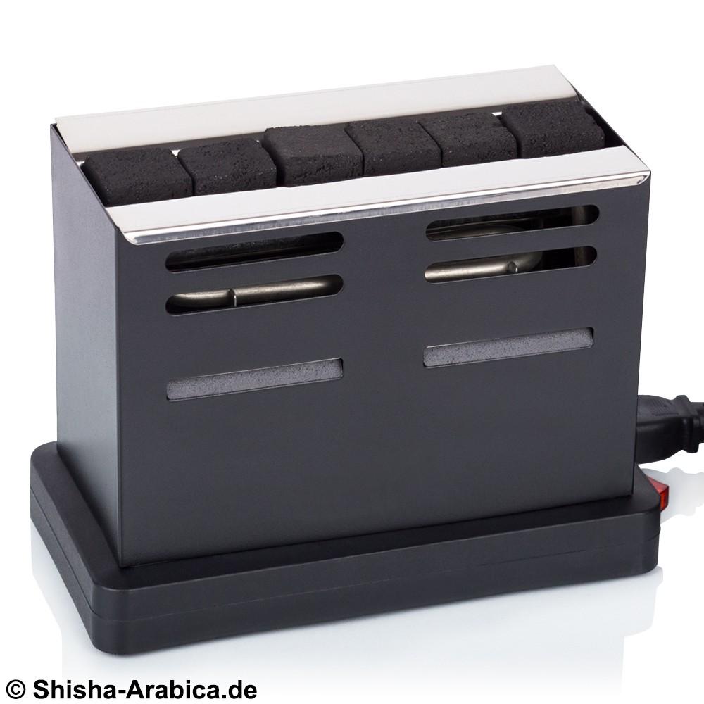 Kohleanzünder Toaster